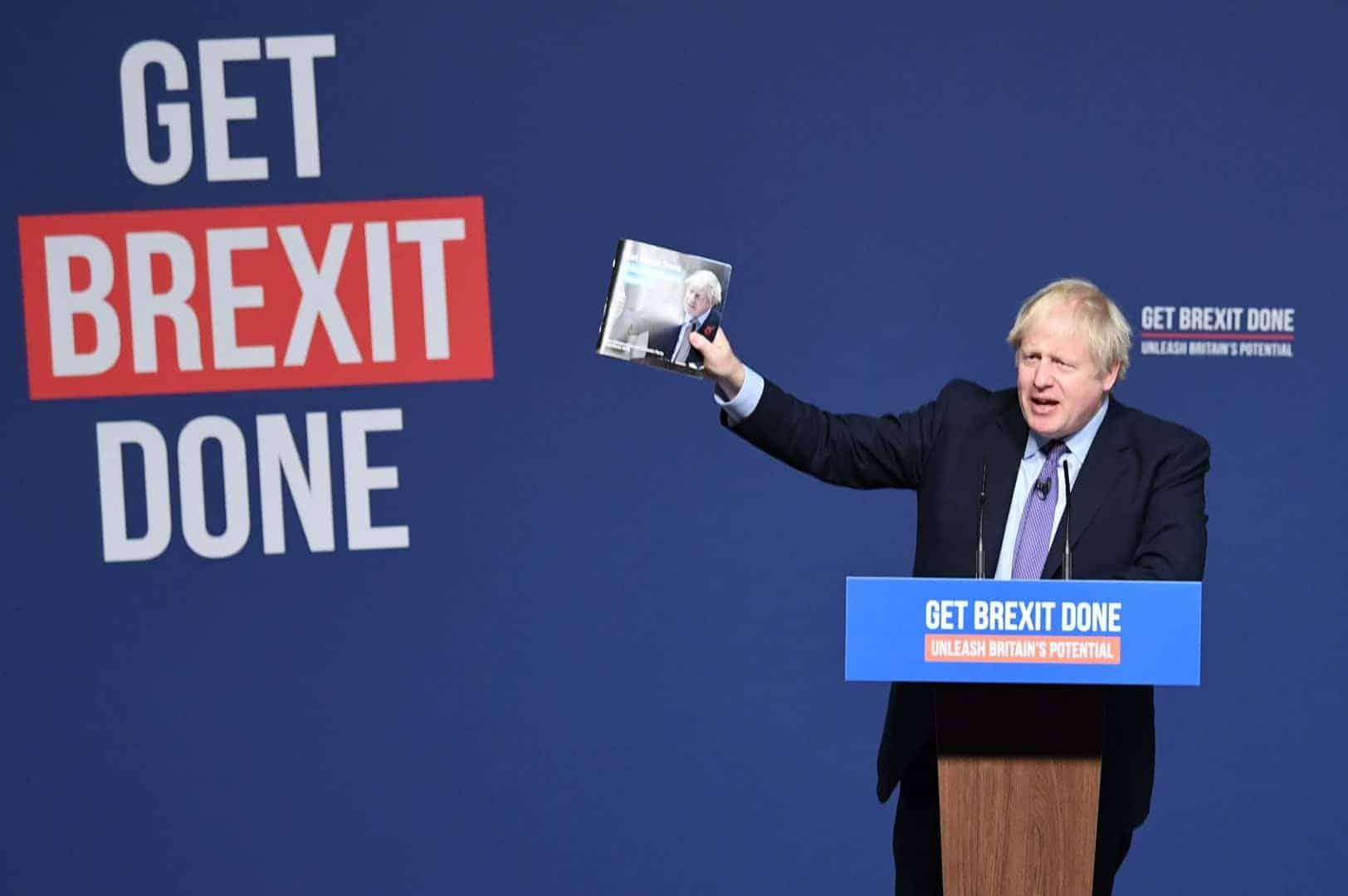 Boris Johnson Get Brexit Done