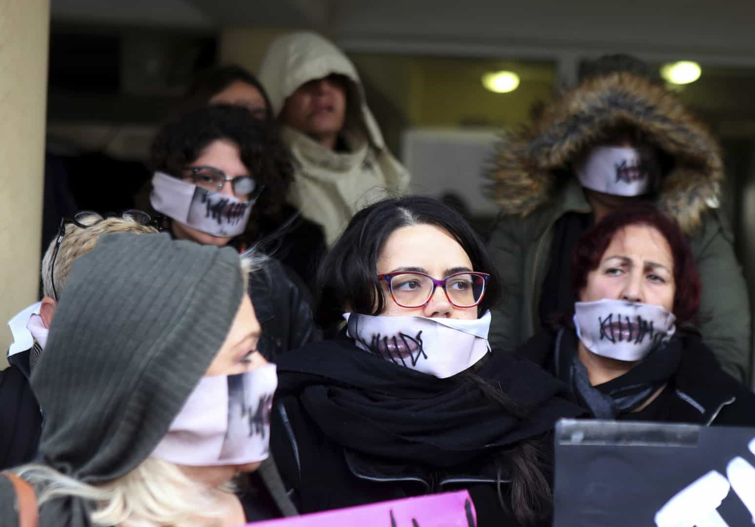 Protests greeted the controversial decision