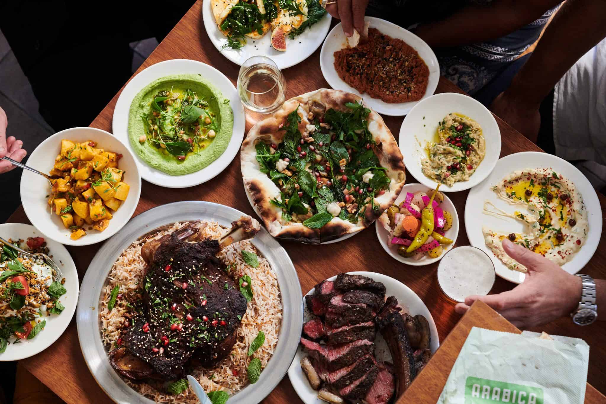 Arabica King's Cross food