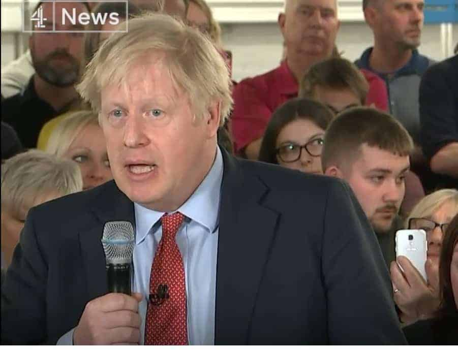 Johnson chased away from speech in Rochester by five protesters