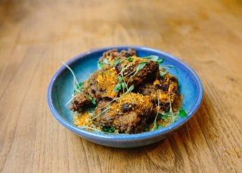 12:51 Buttermilk jerk spiced chicken, scotch bonnet jam, corn nuts, coriander