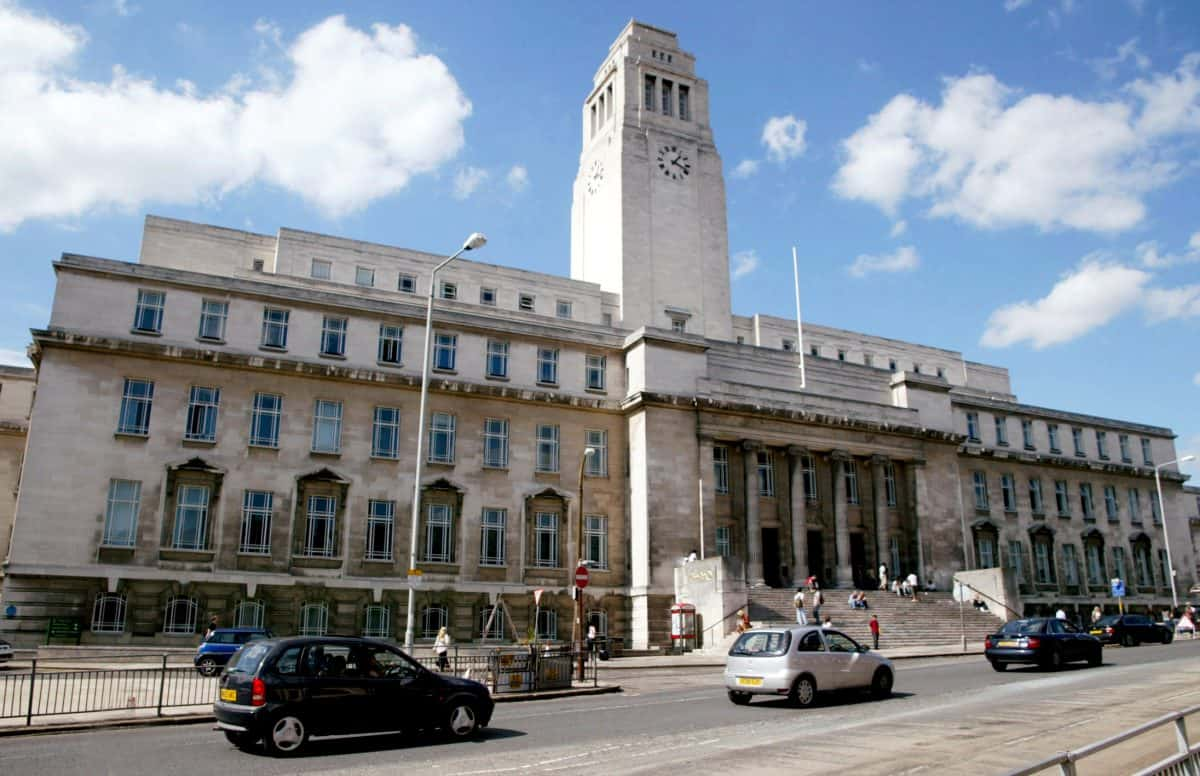 Leeds University (SWNS)