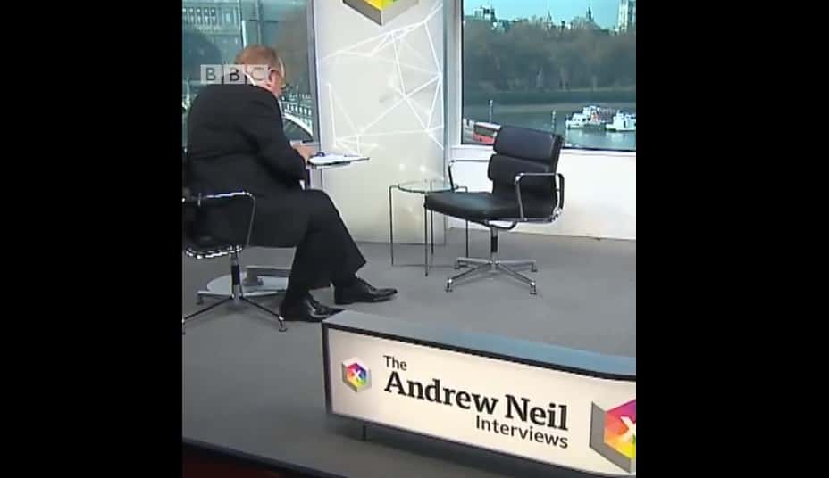 Breaking Tradition, UK PM Wants To Dodge Talks With BBC's Andrew Neil