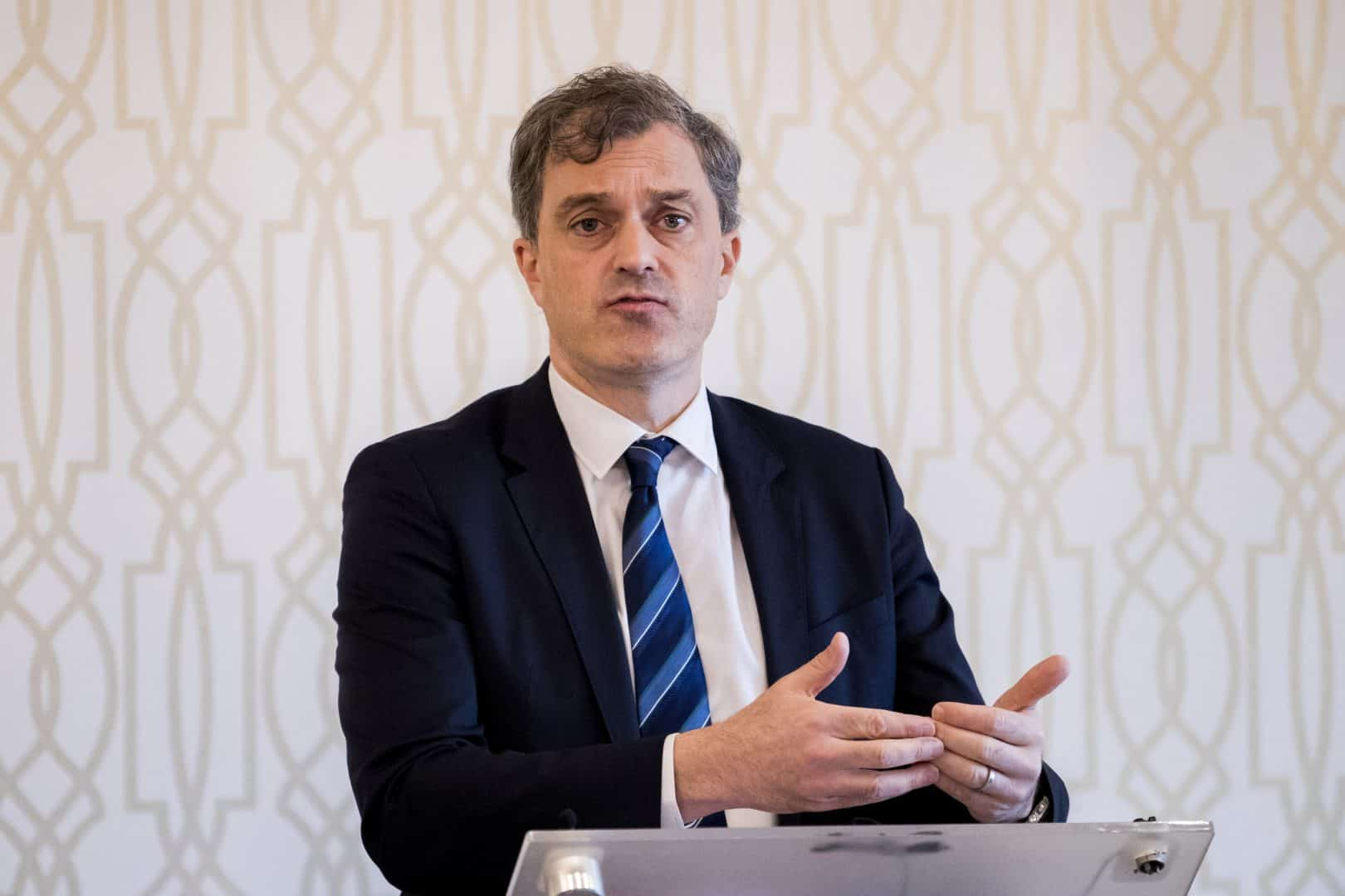 Northern Ireland Secretary Julian Smith has said finding a solution will be among his top priorities during talks he has called with the local political parties (Liam McBurney/PA)