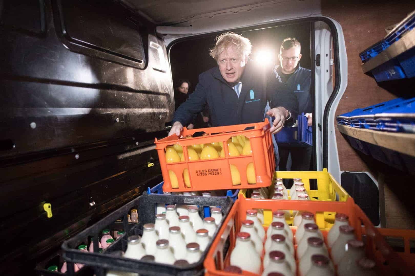 Boris Johnson was accused of bottling it (PA)