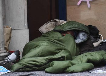 homeless person (PA)