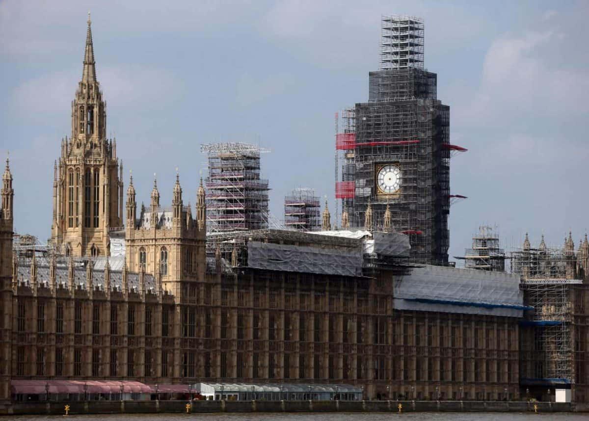 Big Ben repairs (PA)