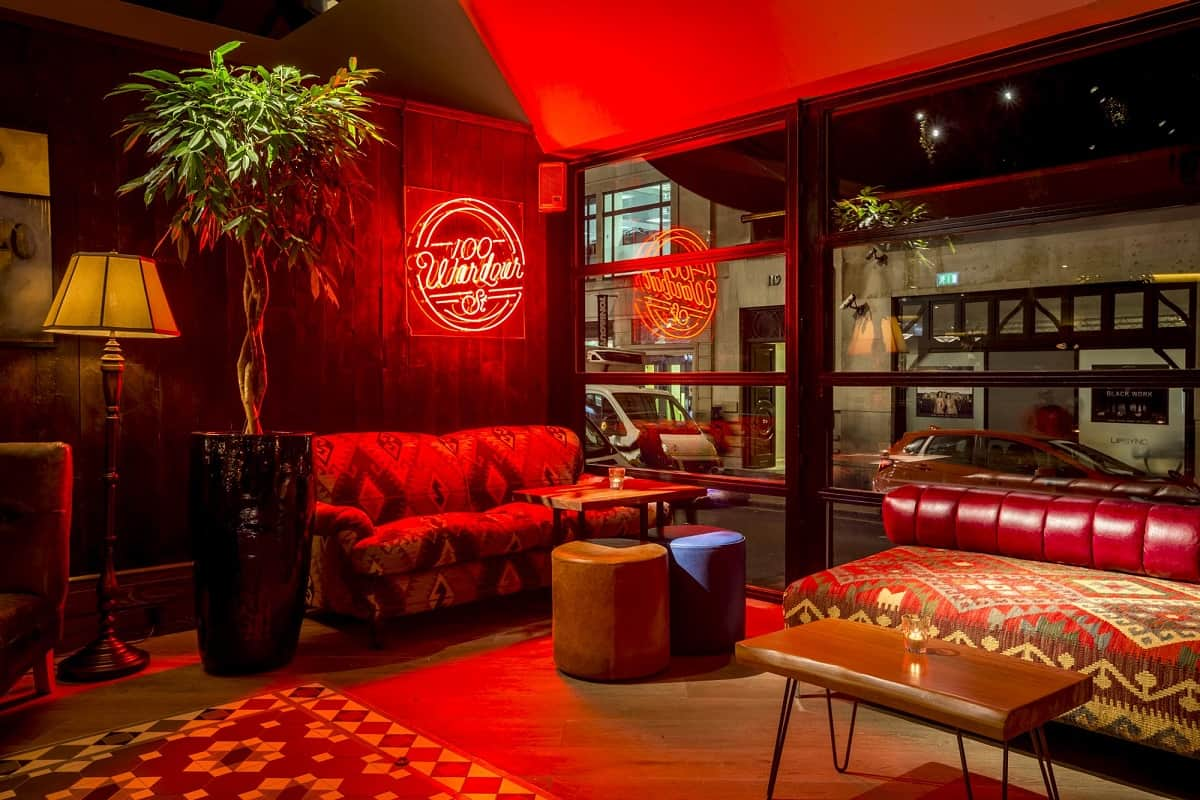 Bar of the Week: 100 Wardour Street