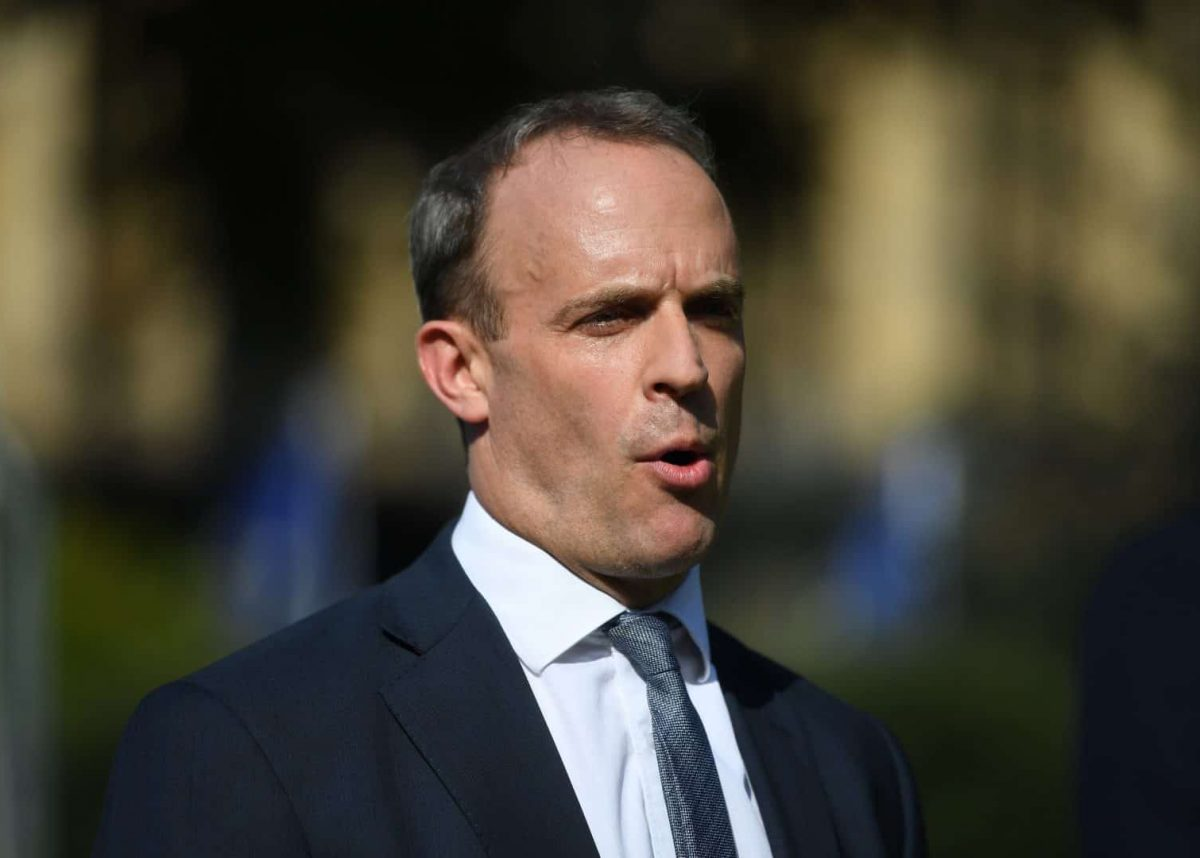 Foreign Secretary Dominic Raab (PA)