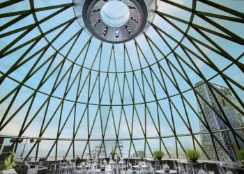 Helix The Gherkin - Interior day time