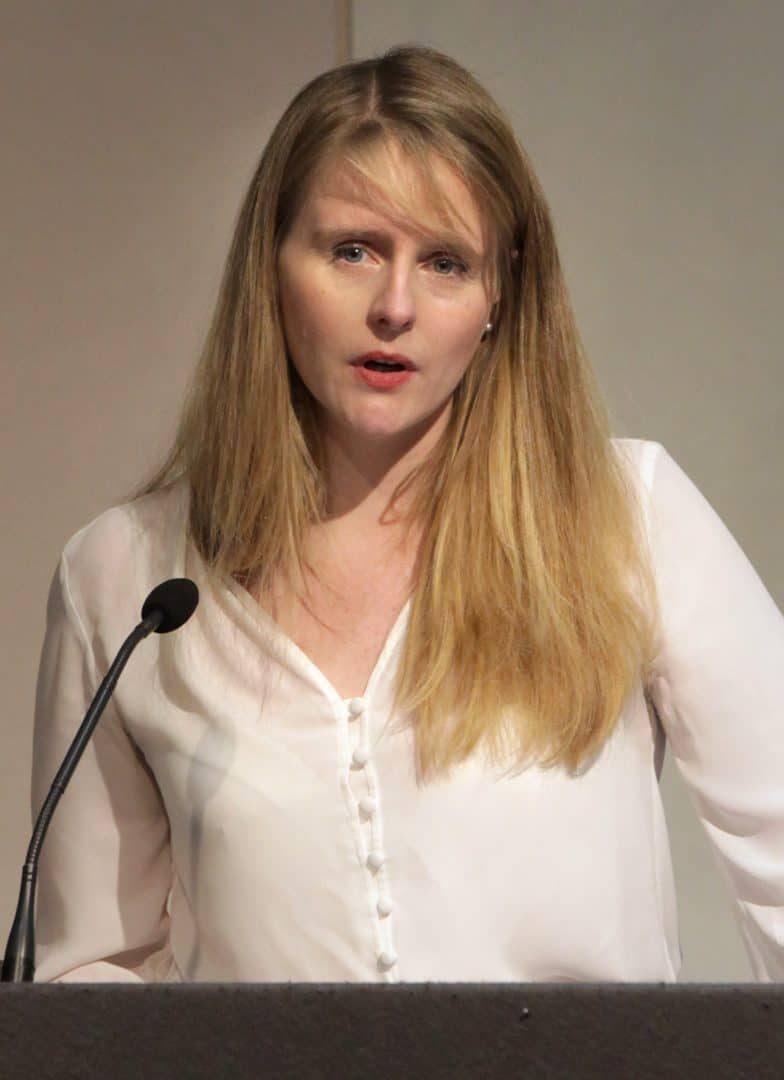 Former Brexit Party MEP Lucy Harris (PA)