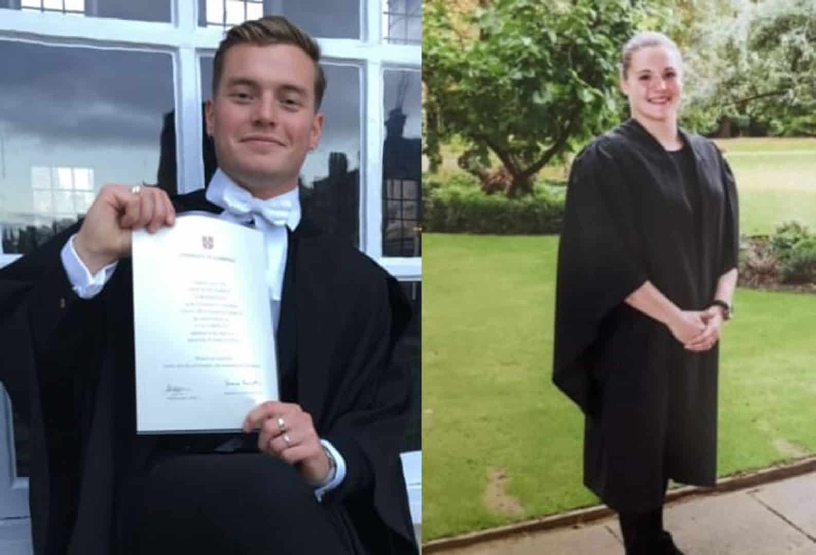 Jack Merritt and Saskia Jones both were killed in the London Bridge attack (Metropolitan Police/PA)