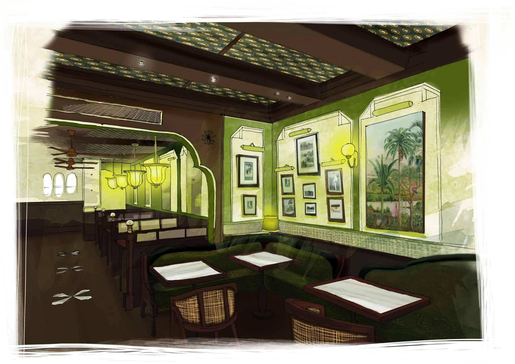 Gymkhana_Ground Floor Illustration