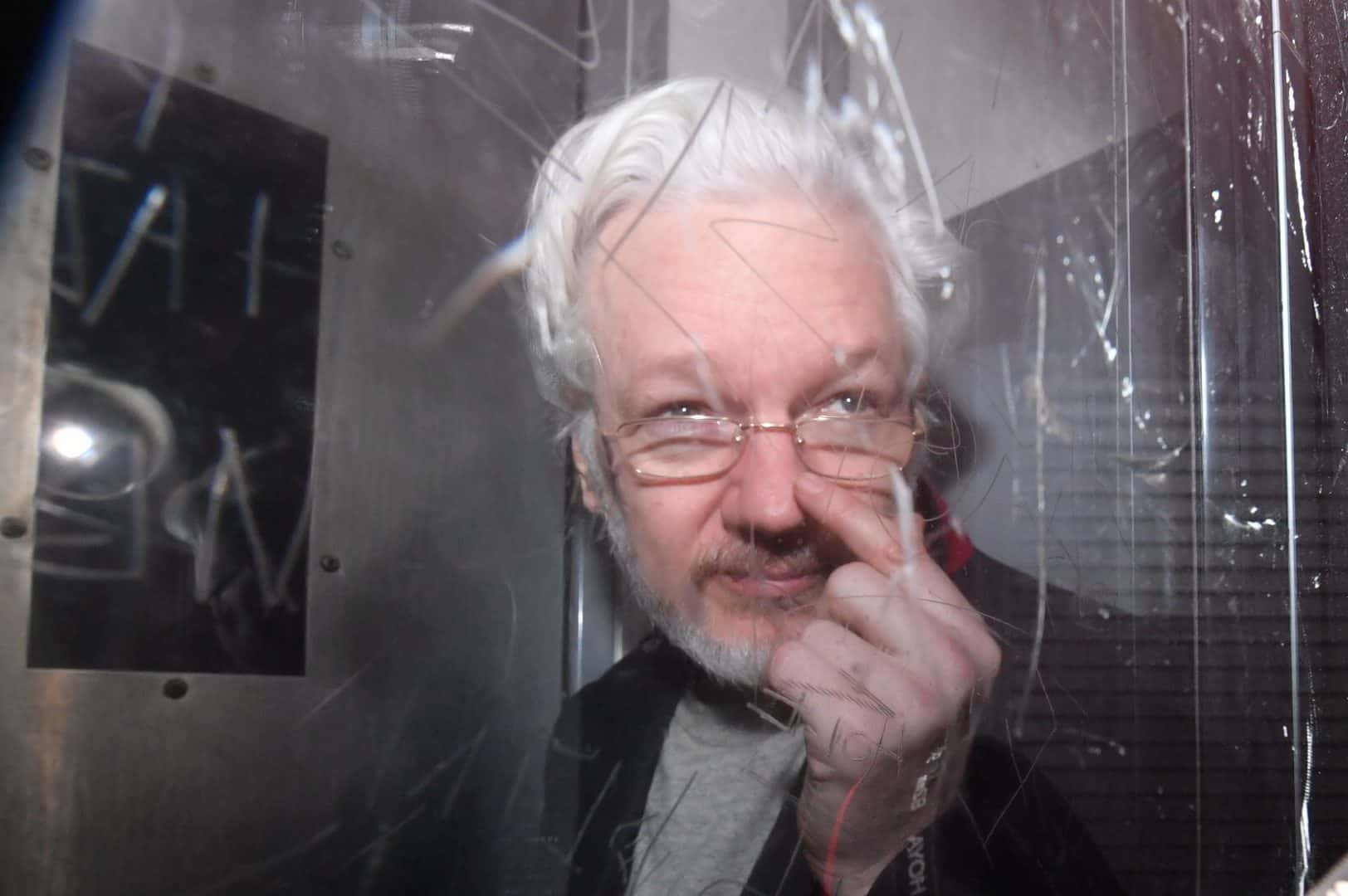 Julian Assange's health improving in prison: WikiLeaks chief