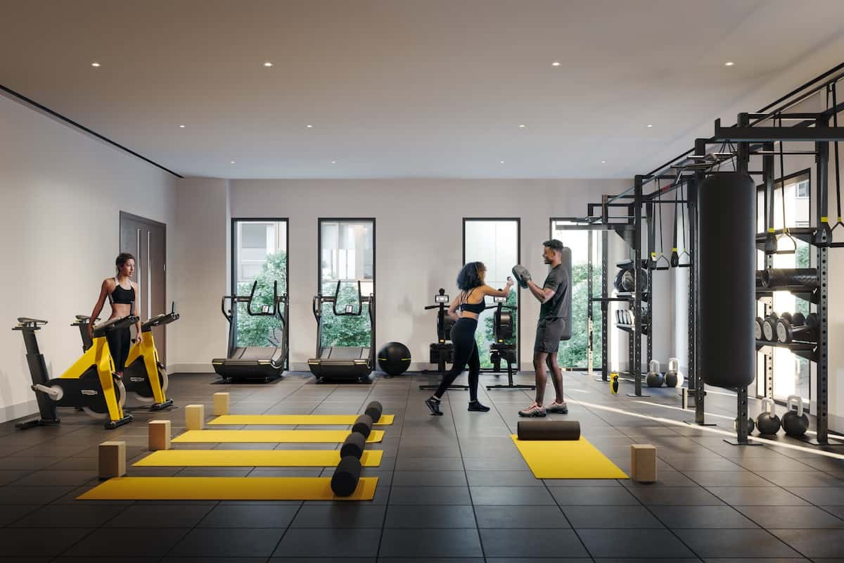 Residents private gym