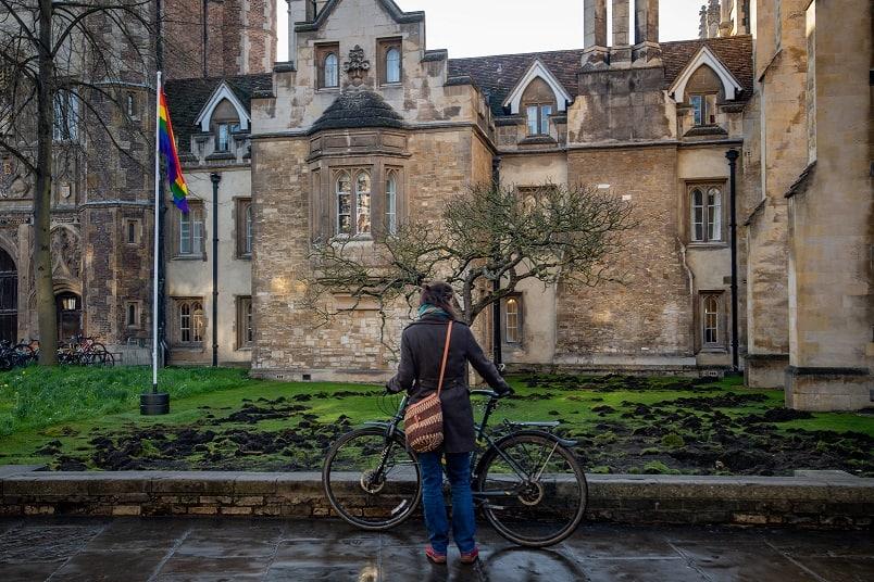 Arrest as Extinction Rebellion ruins Trinity College lawn