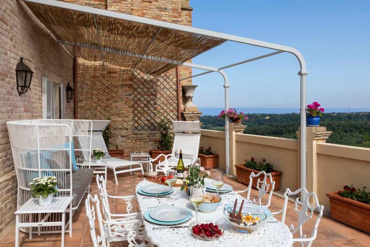 Villa Veneto terrace