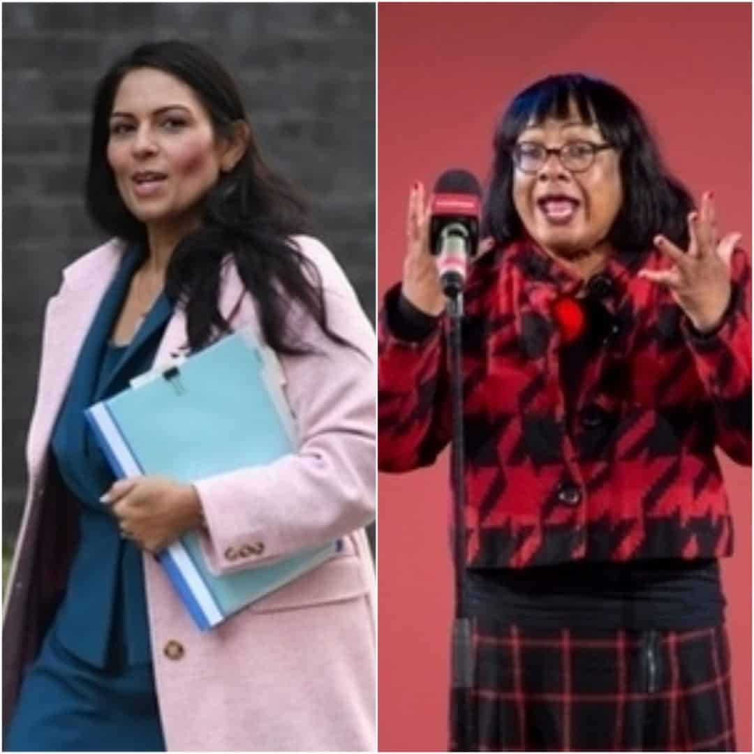 Diane Abbott calls on Priti Patel to resign amid bullying claims