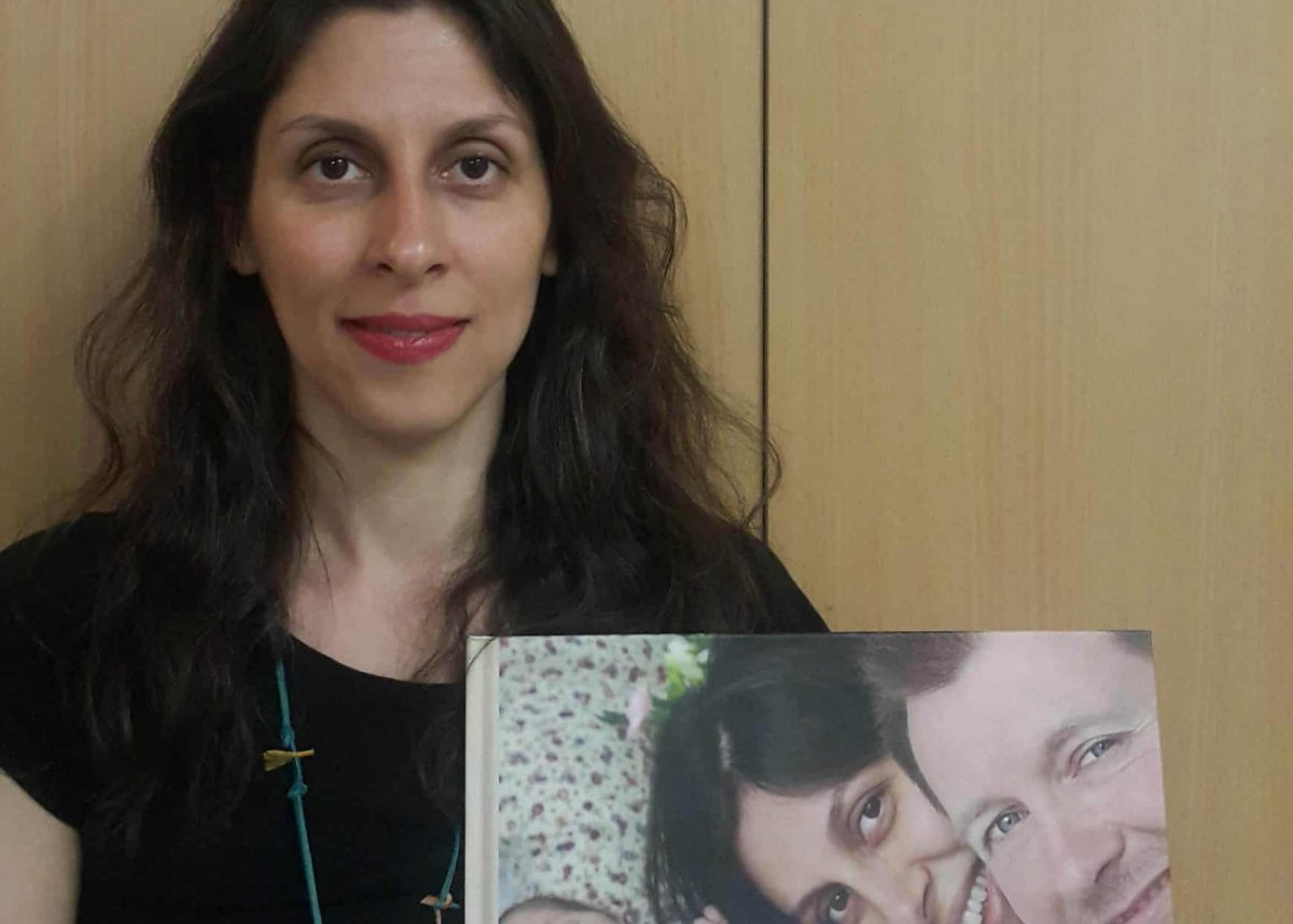 Free Nazanin Campaign handout photo of Nazanin Zaghari-Ratcliffe, the Britsh-Iranian woman jailed in Iran, after she was released temporarily on furlough for two weeks until April 4 by the government in Tehran because of the coronavirus outbreak, her husband said.
