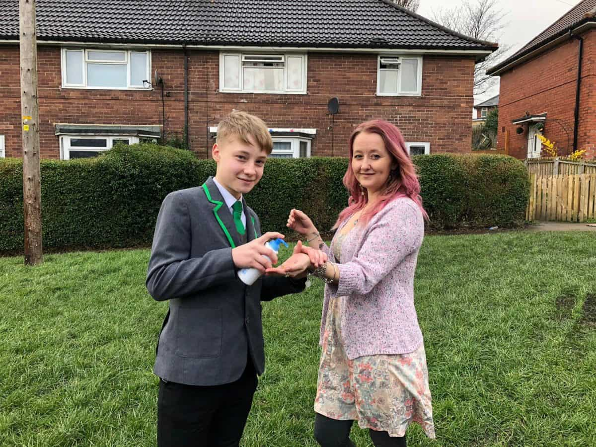 Schoolboy Entrepreneur Sent Home for Offering 50p Squirts of Hand Sanitiser