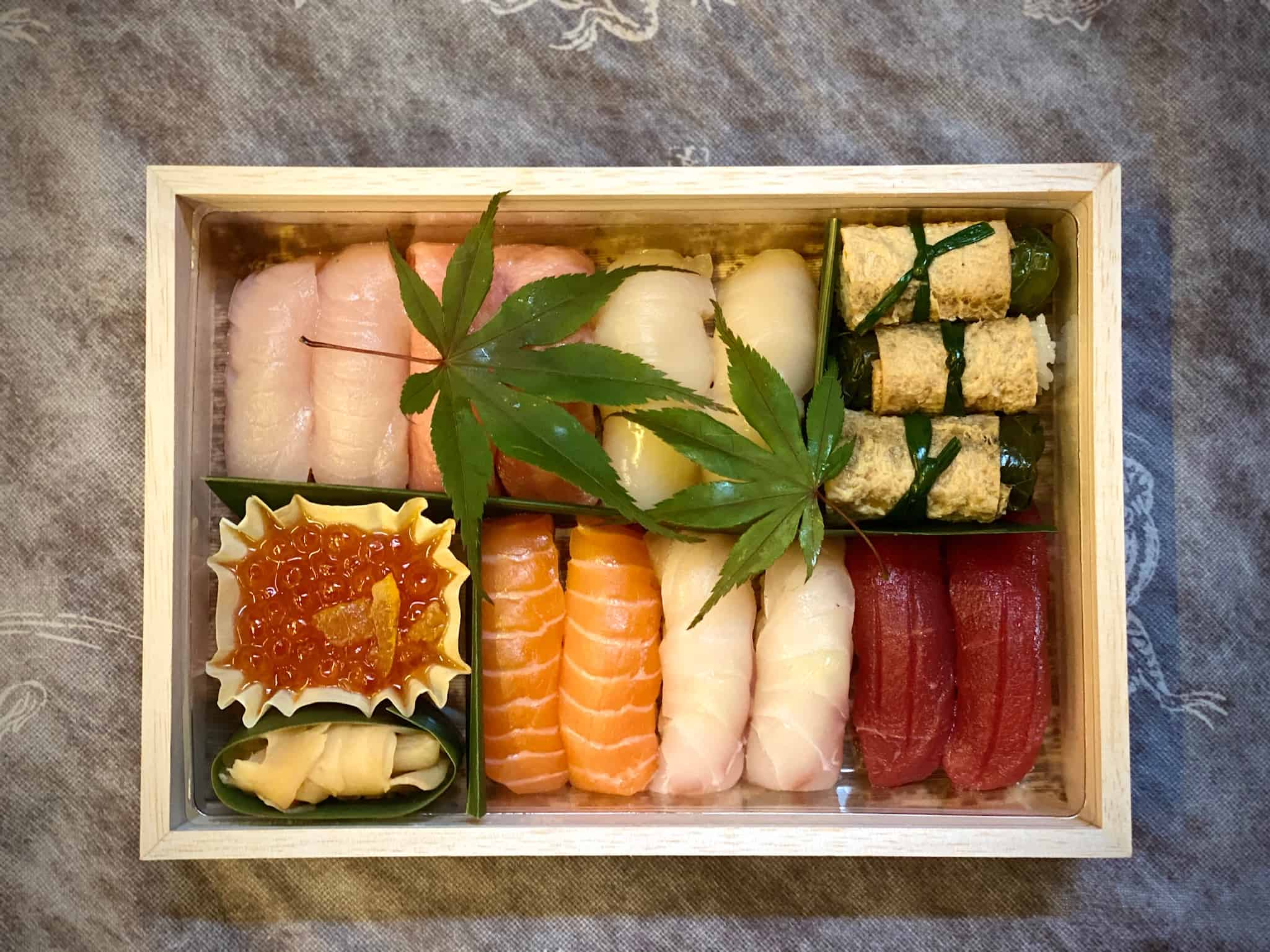 Dinings SW3 Sushi Bento Box Delivery