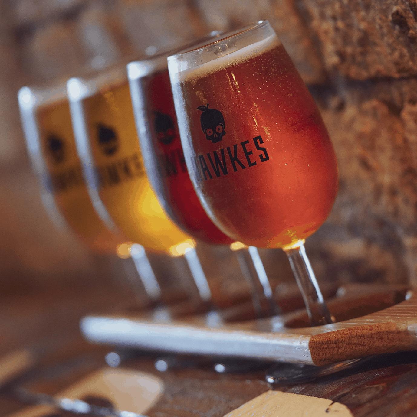 Hawkes Cider Flight Beer Delivery Covid-19