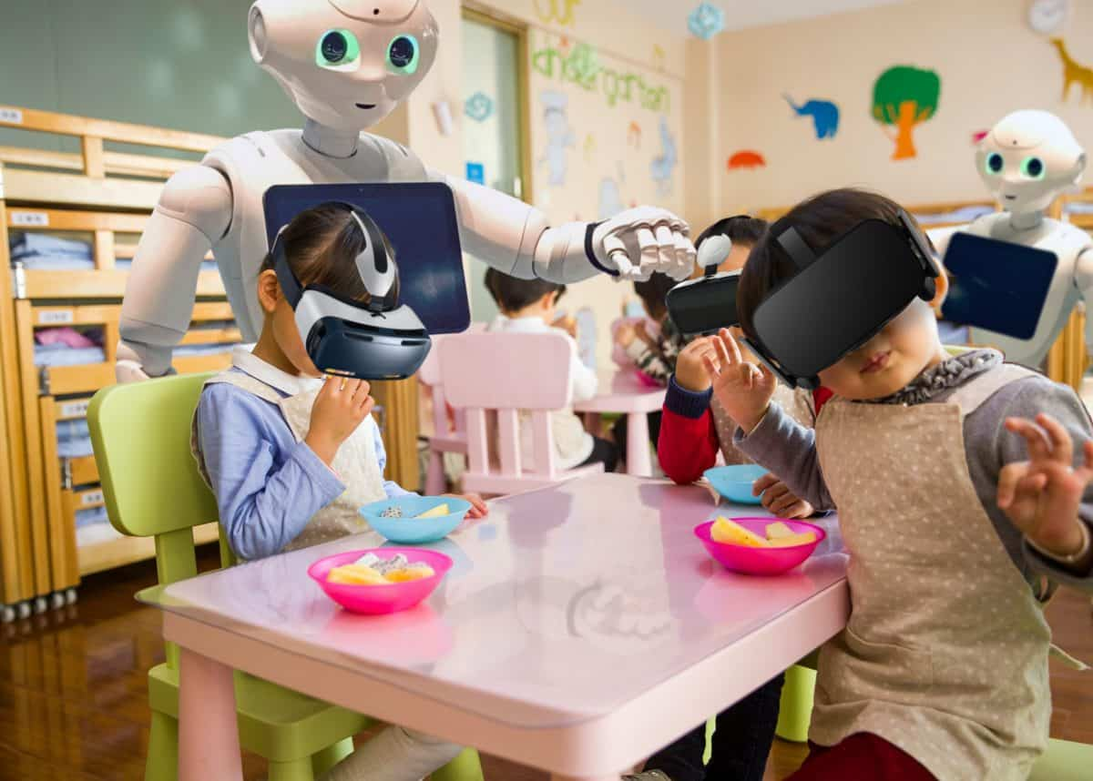 According to Dr Tempest, AI will lead to a fairer system of education for children where differences in IQ are removed.