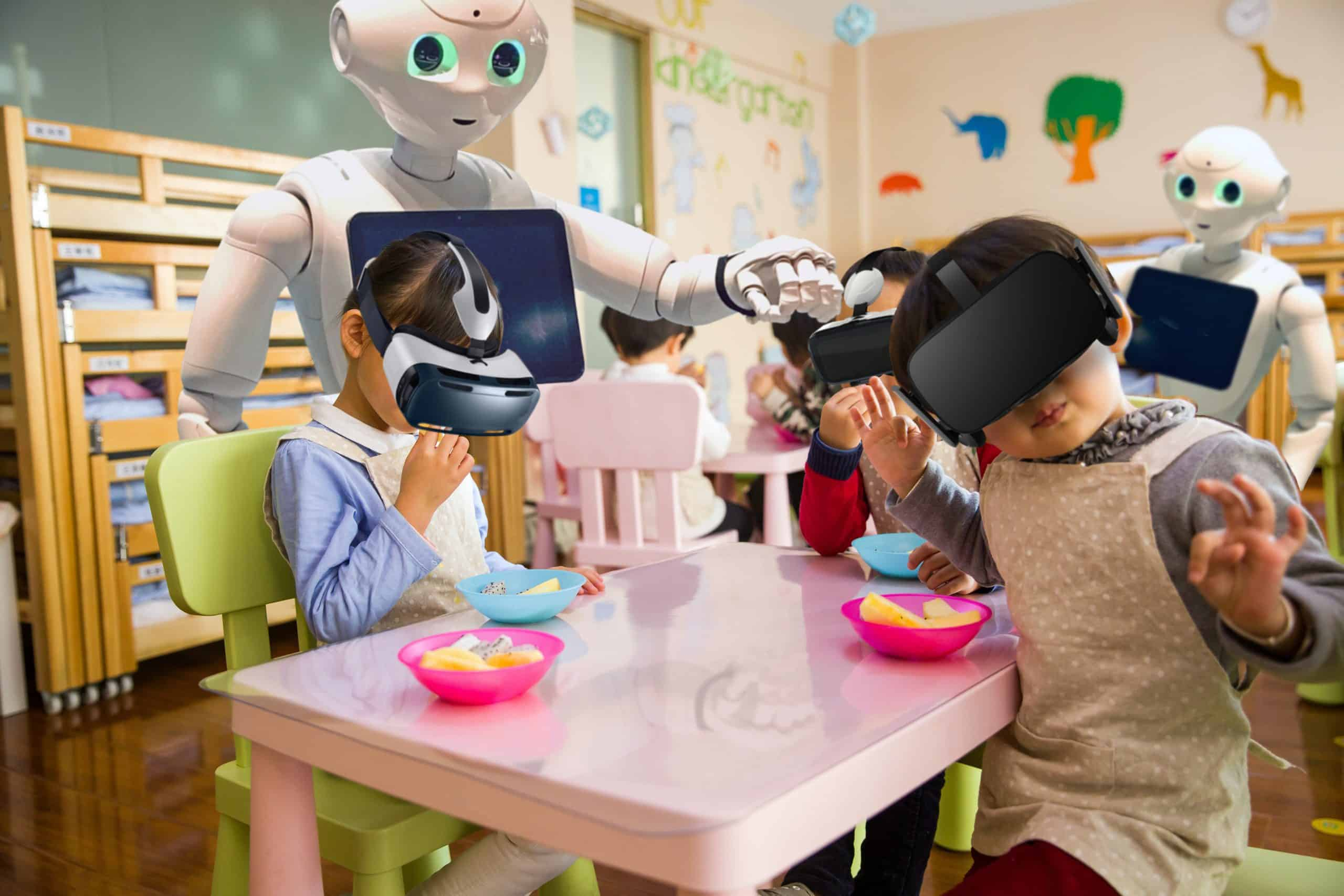 Advances in artificial intelligence will lead to the outsourcing of parenting within 30 years