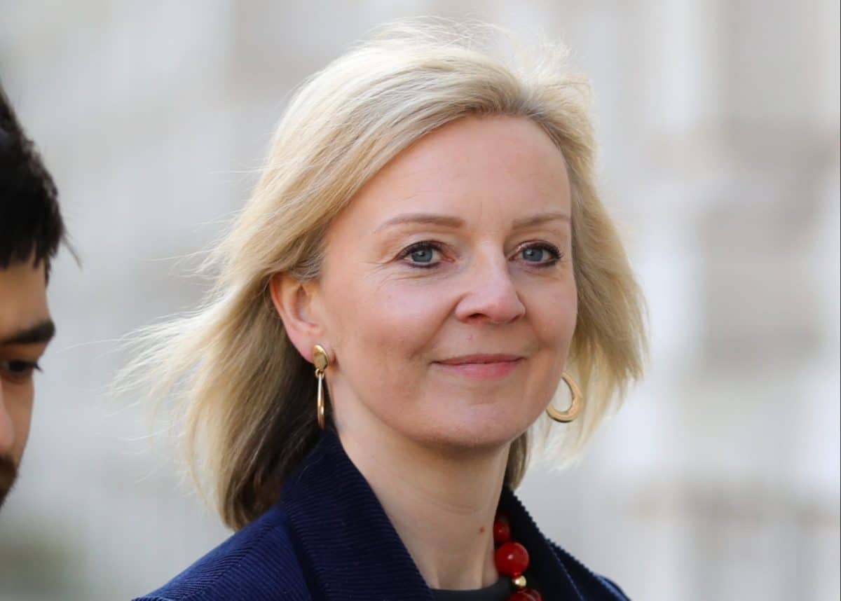 International Trade Secretary Liz Truss arrives at the Cabinet Office, London, ahead of a meeting of the Government's emergency committee Cobra to discuss coronavirus.