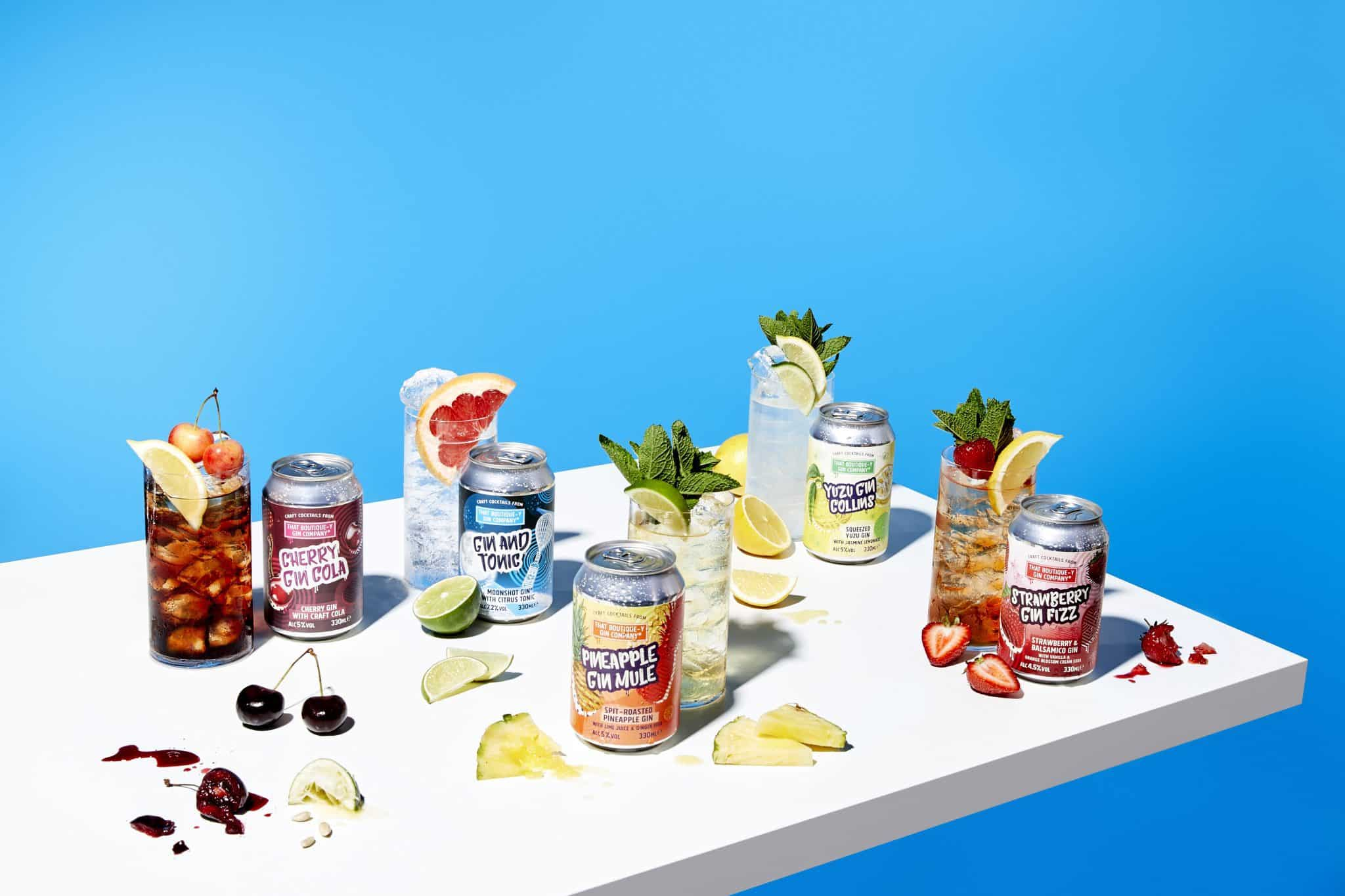 That Boutique-y Gin Company Canned Cocktails