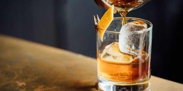 Whisky Cocktail Whiskey Old Fashioned