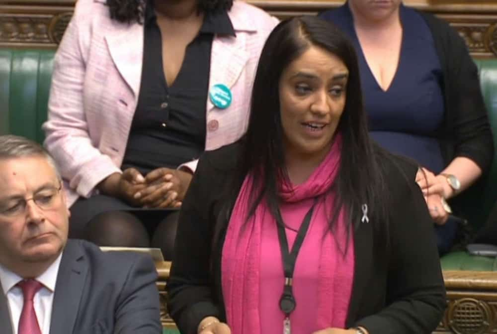 Labour MP Naz Shah Credit;PA