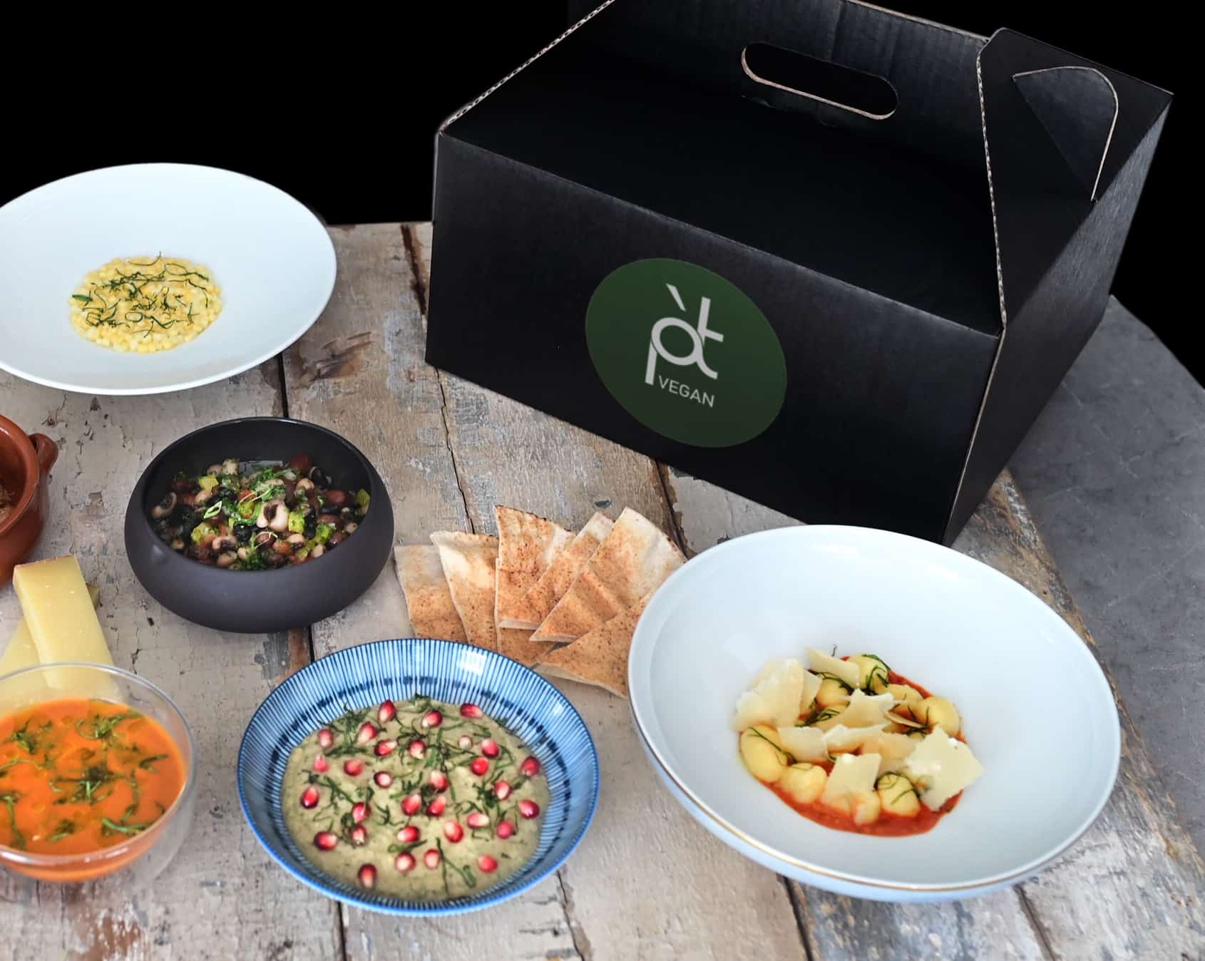 Pied a Terre Full vegan box delivery