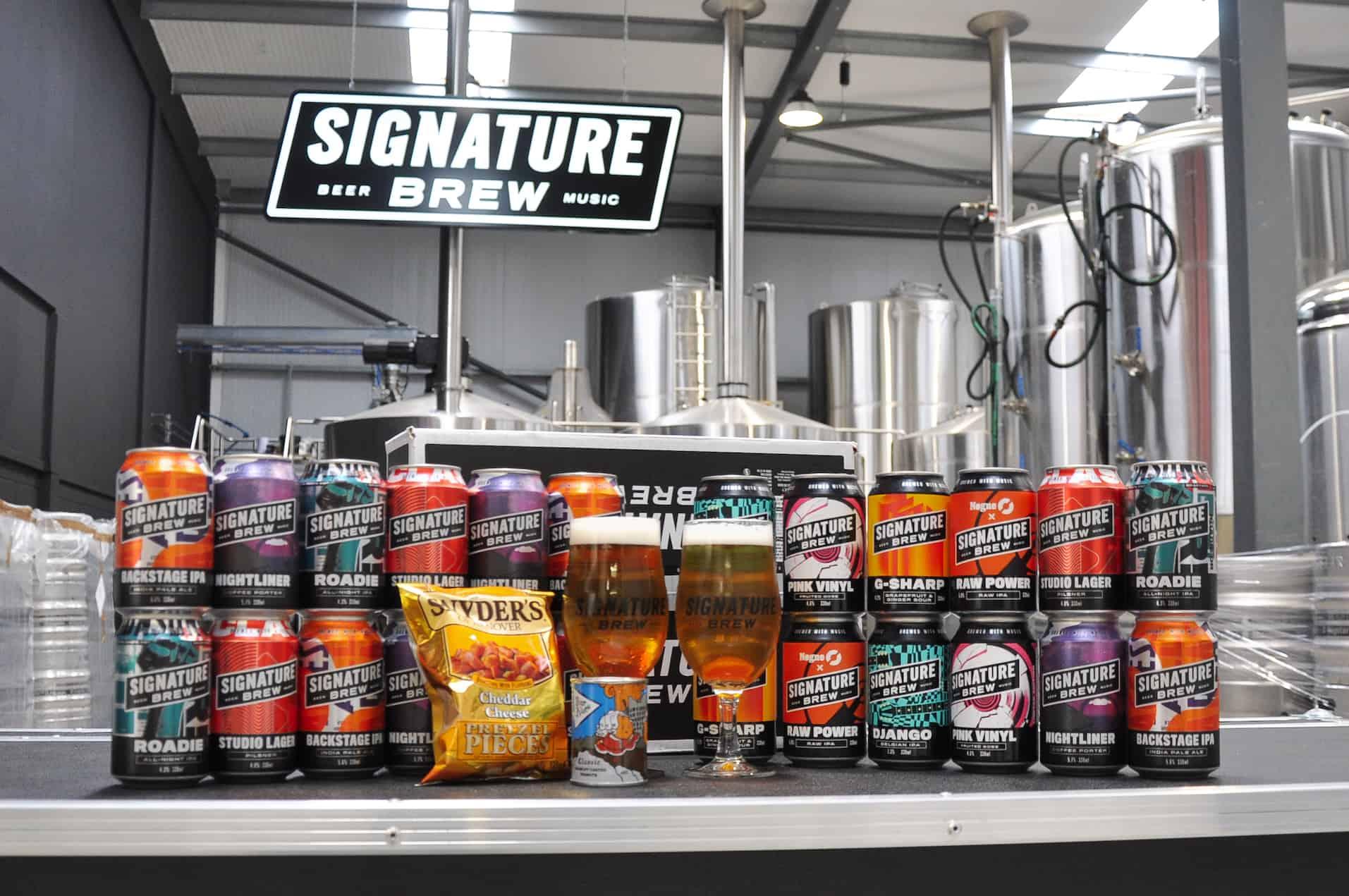 Signature Brew Pub in a Box