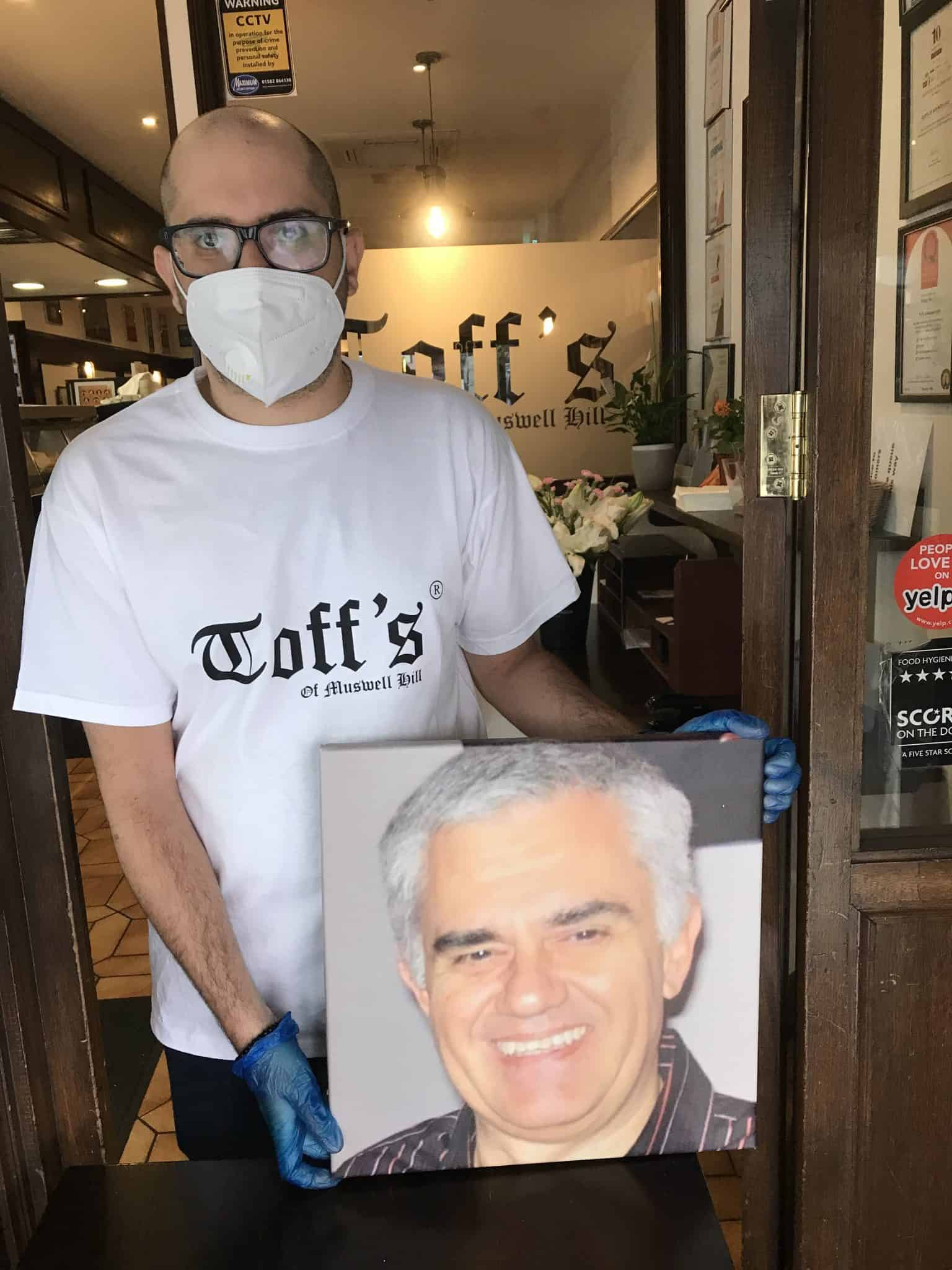 Toff's Muswell Hill tribute | Photo: Wendy Sloane