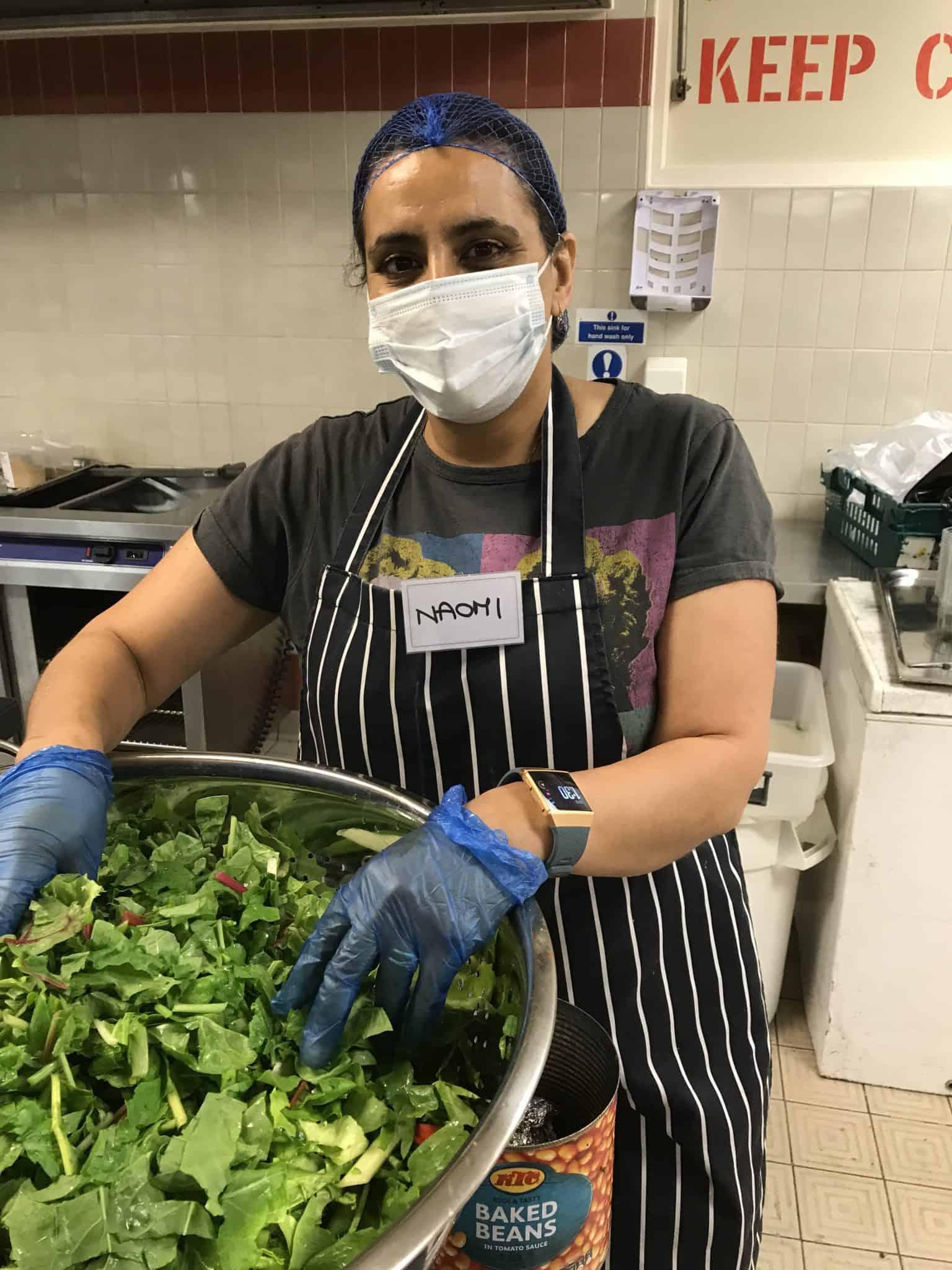 Compassion London volunteer, Naomi Clucas  | Photo: Wendy Sloane