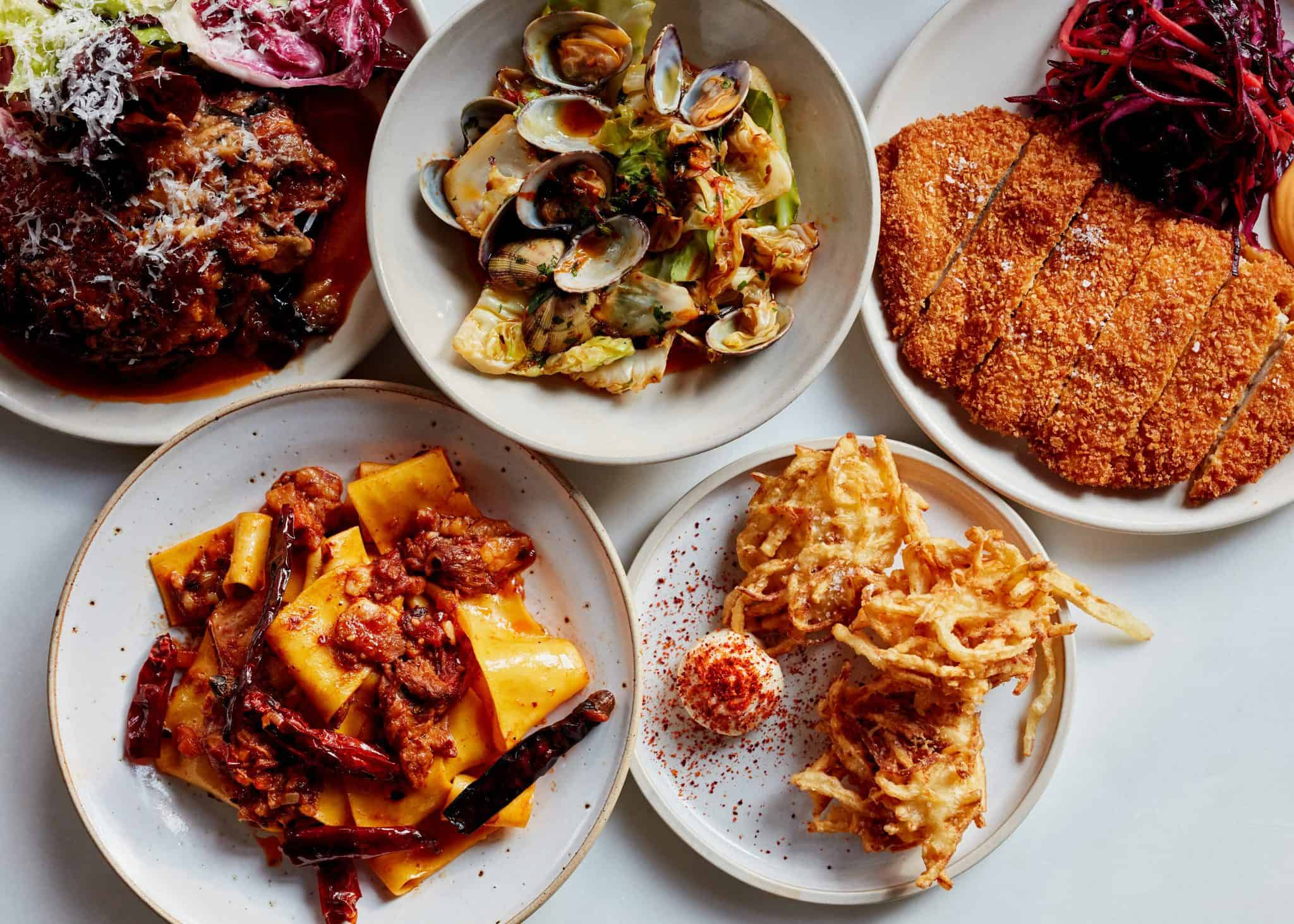 Larry's food | Photo: Matt Russell