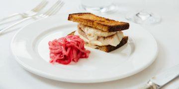 Quo Vadis Soho Smoked Eel Sandwich