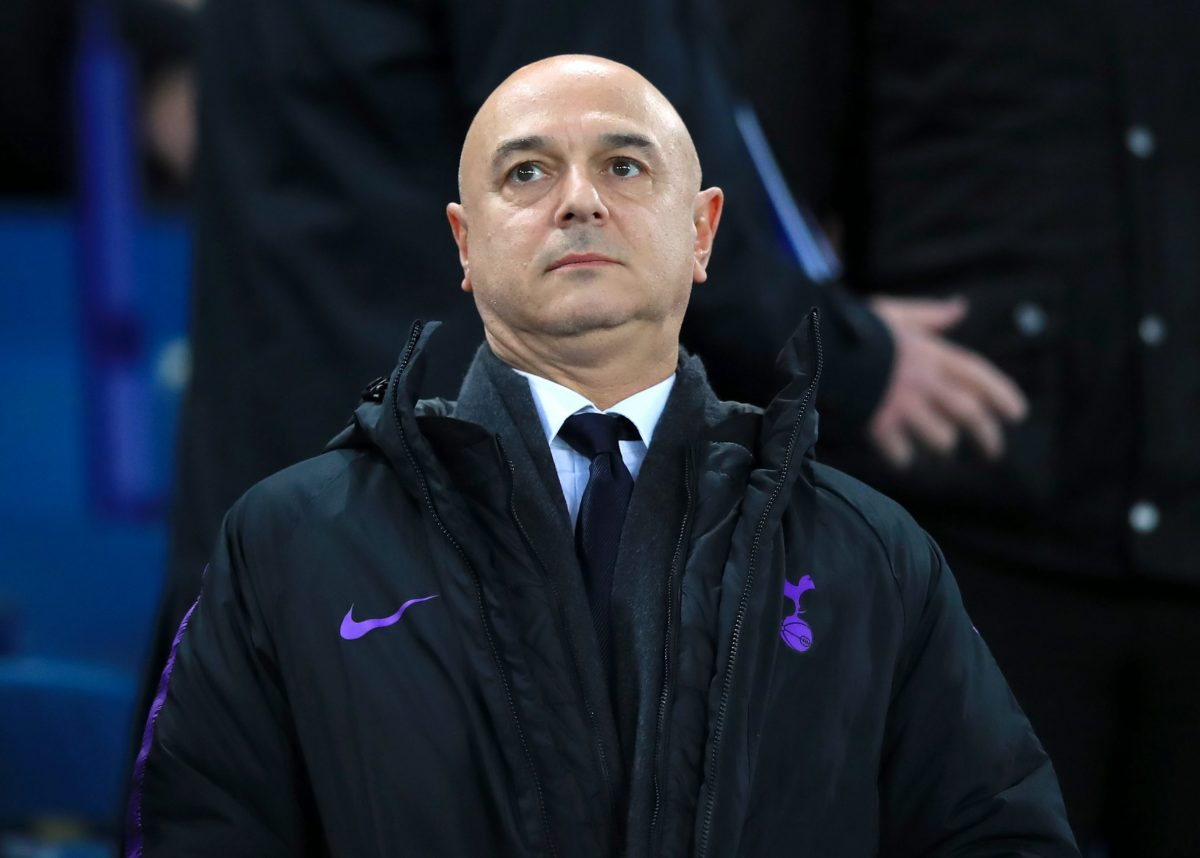 File photo dated 23-12-2018 of Tottenham Chairman Daniel Levy who was paid a £3million bonus for delivering the club's new stadium.