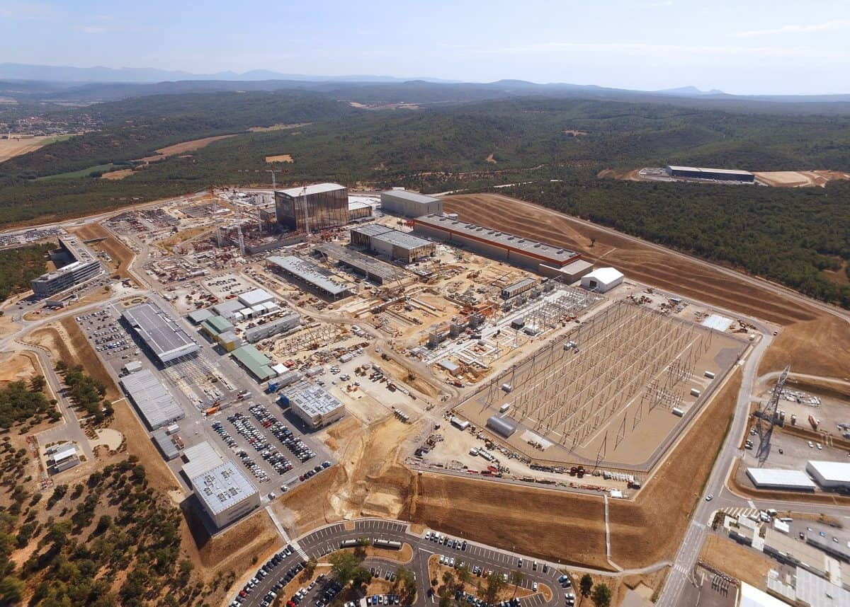 The International Thermonuclear Experimental Reactor (Iter) under construction in southern France (Iter).