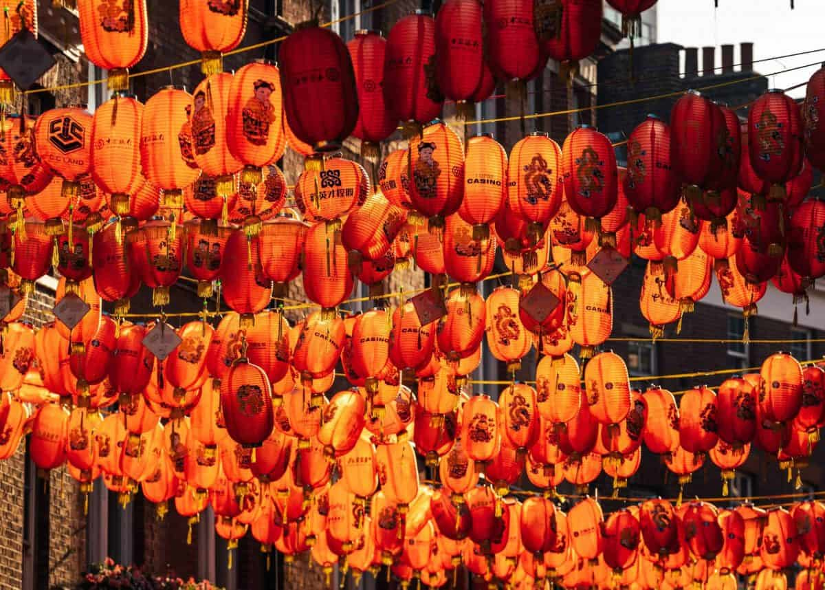 #LoveChinaTown lanterns | Photo: @haydonperrior