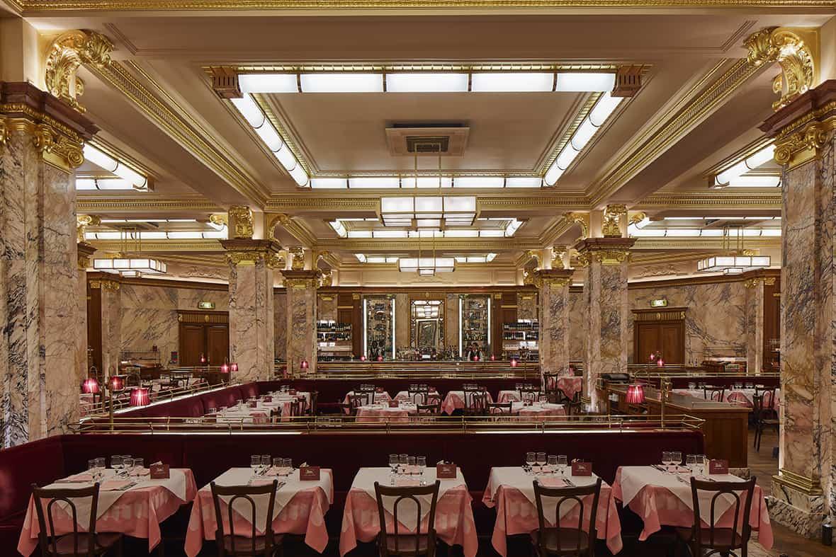 Brasserie Zèdel Interior