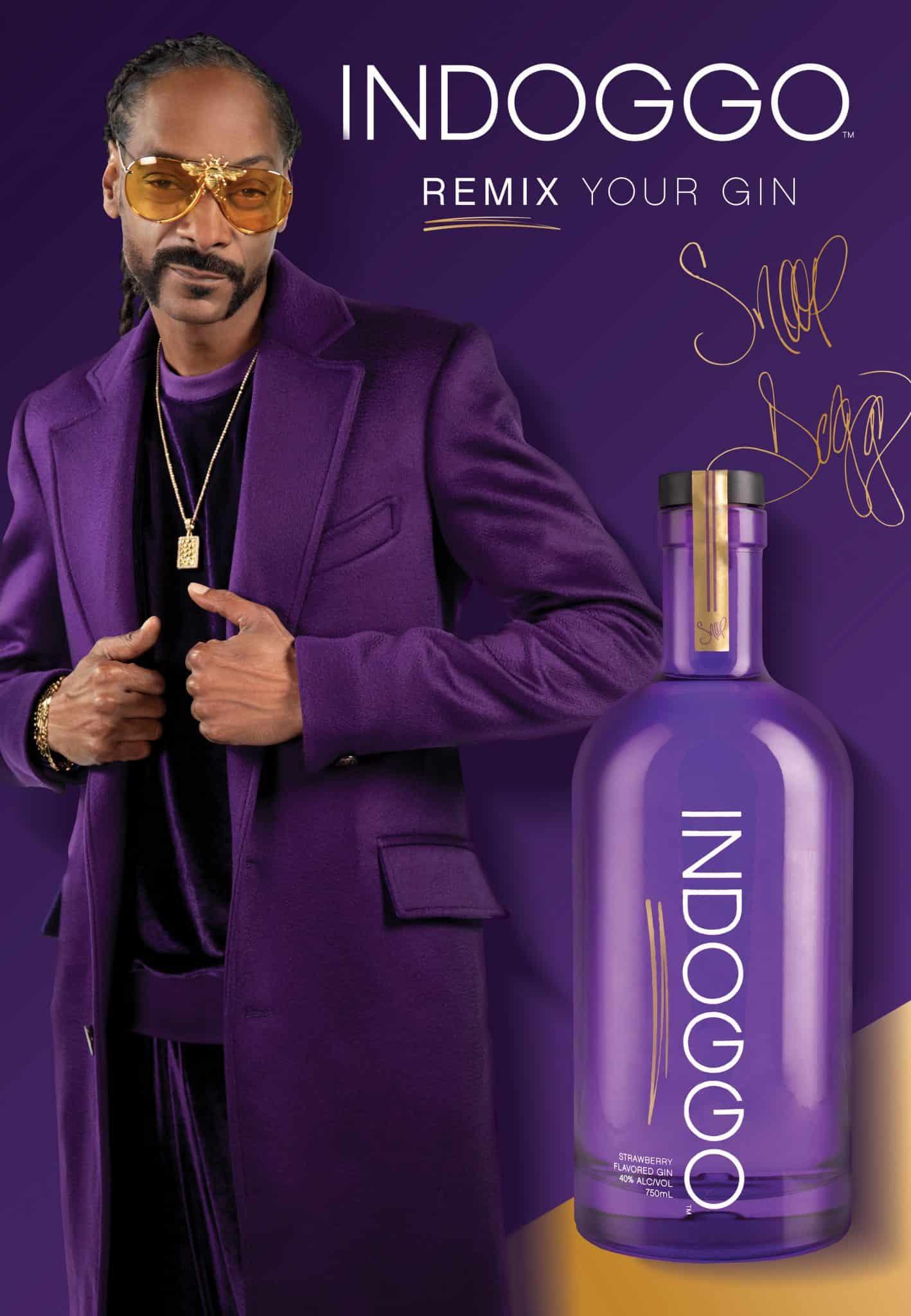 Snoop Dogg INDOGGO Gin