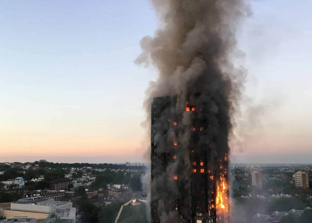 "File photo dated 14/06/17 of the fire at Grenfell Tower in west London. An ""expert witness"" to the Grenfell Tower Inquiry has been dropped after the architects' watchdog said he was not registered."