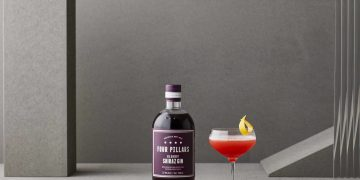 Four Pillars Gin Bloody Shiraz Bloody Jasmine_with_bottle_2020