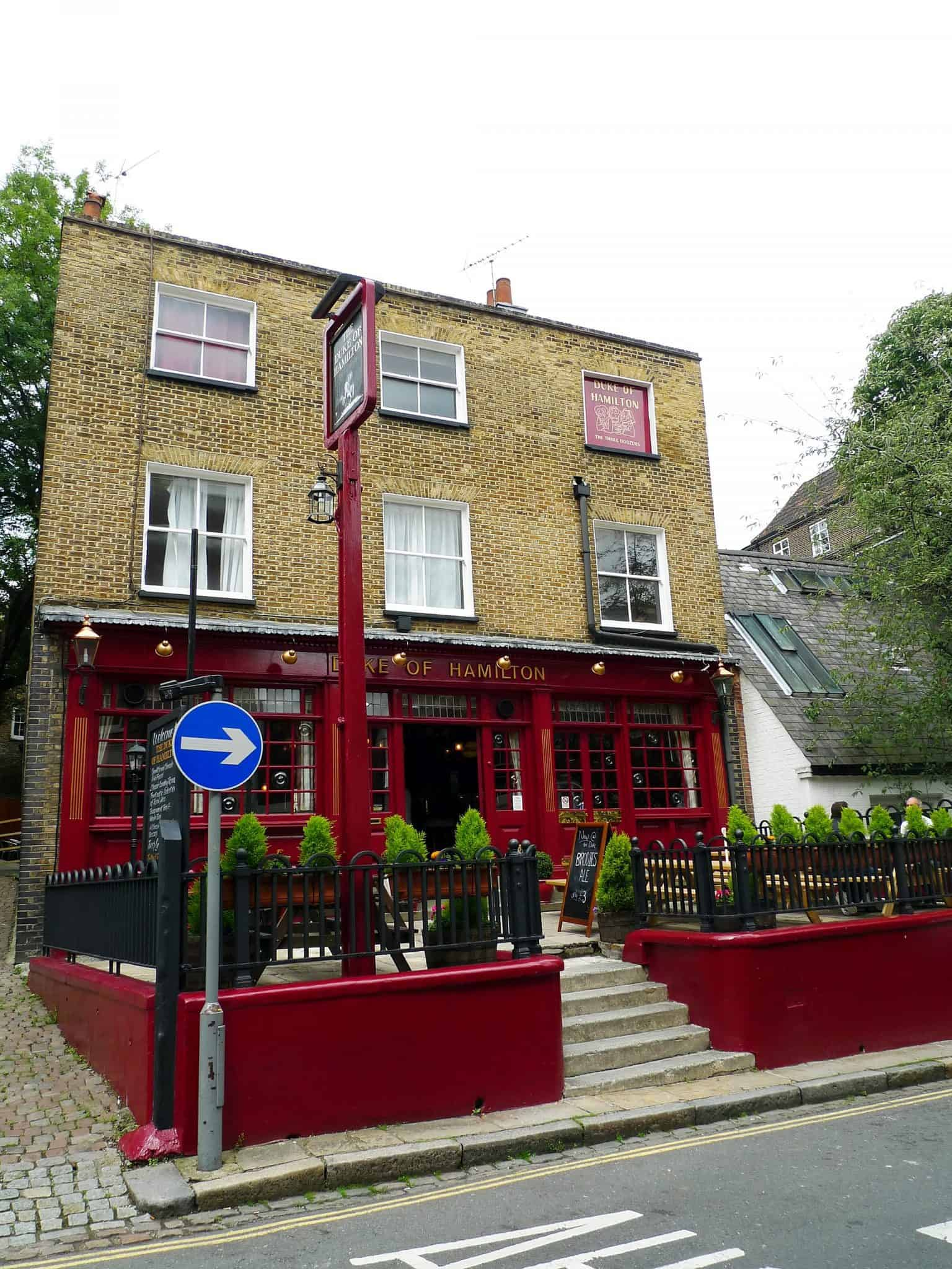Best pubs in North London Duke_of_Hamilton,_Hampstead,_NW3_(5920907501) Ewan Munro from London, UK, CC BY-SA 2.0, via Wikimedia Commons