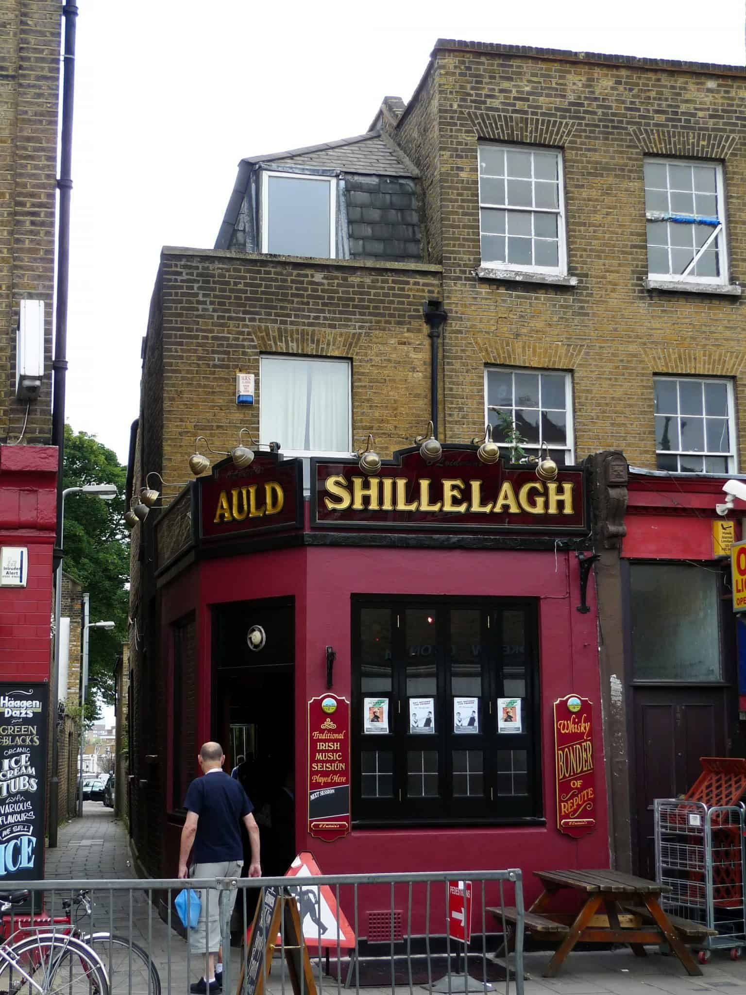Best pubs in north London Auld Shillelagh Stoke Newington | Ewan Munro from London, UK, CC BY-SA 2.0, via Wikimedia Commons