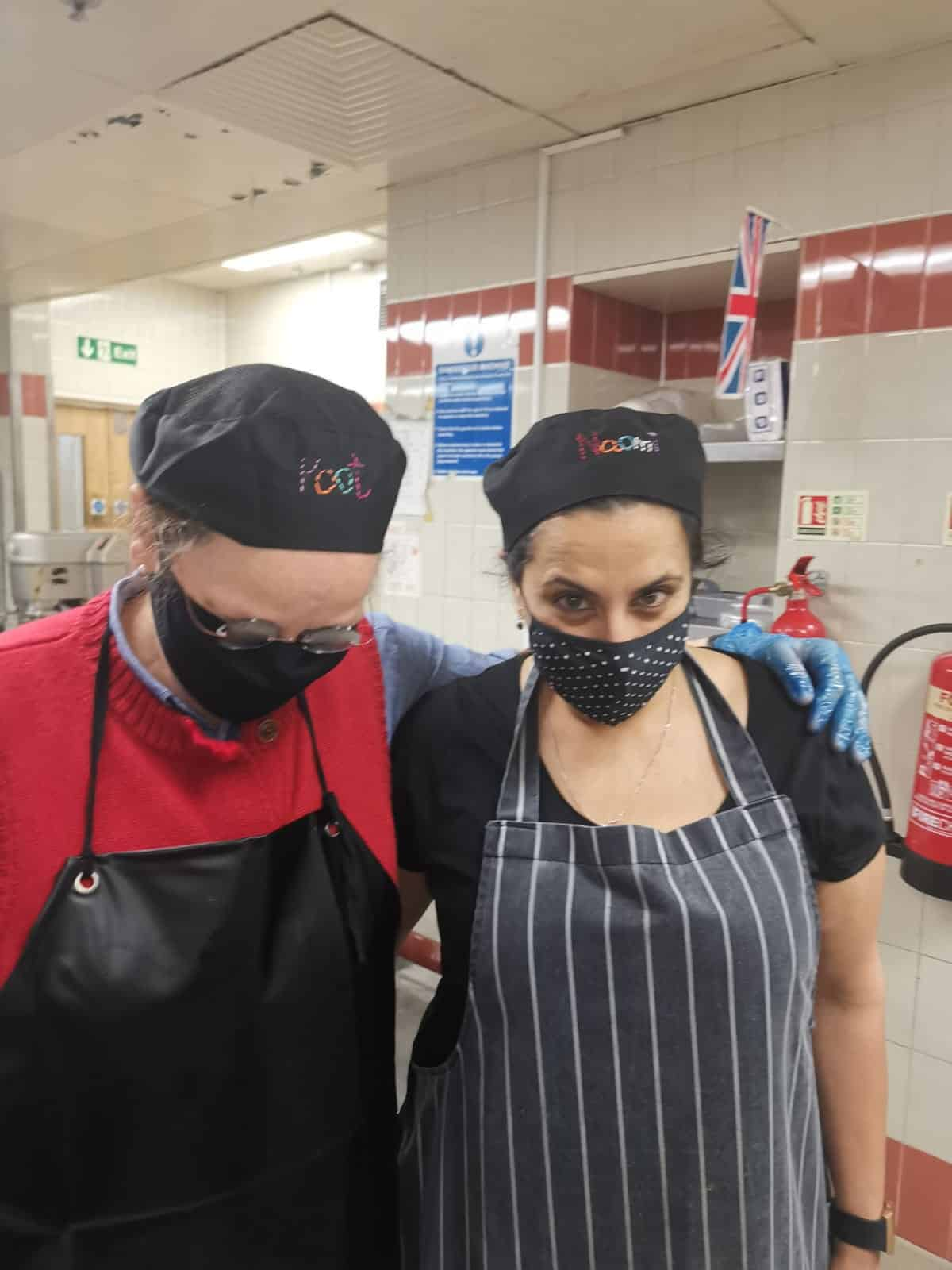 With Compassion Penultimate day in Alexandra Palace kitchen | Photo courtesy With Compassion