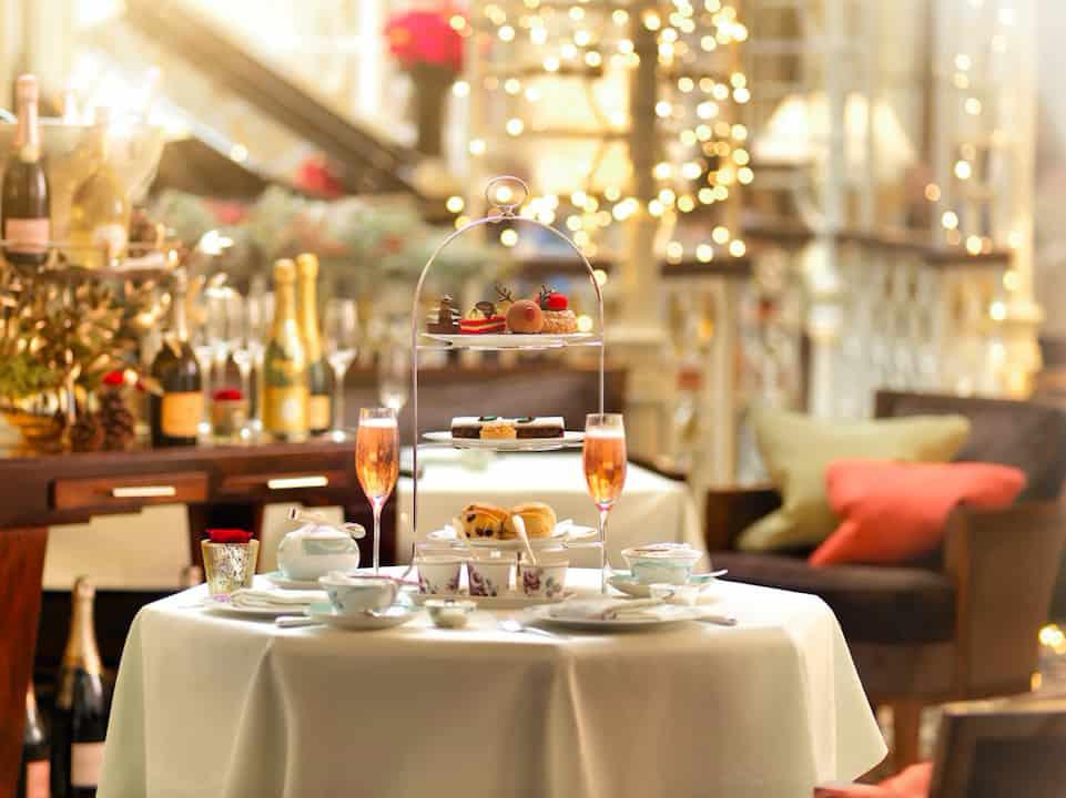 Savoy festive afternoon tea