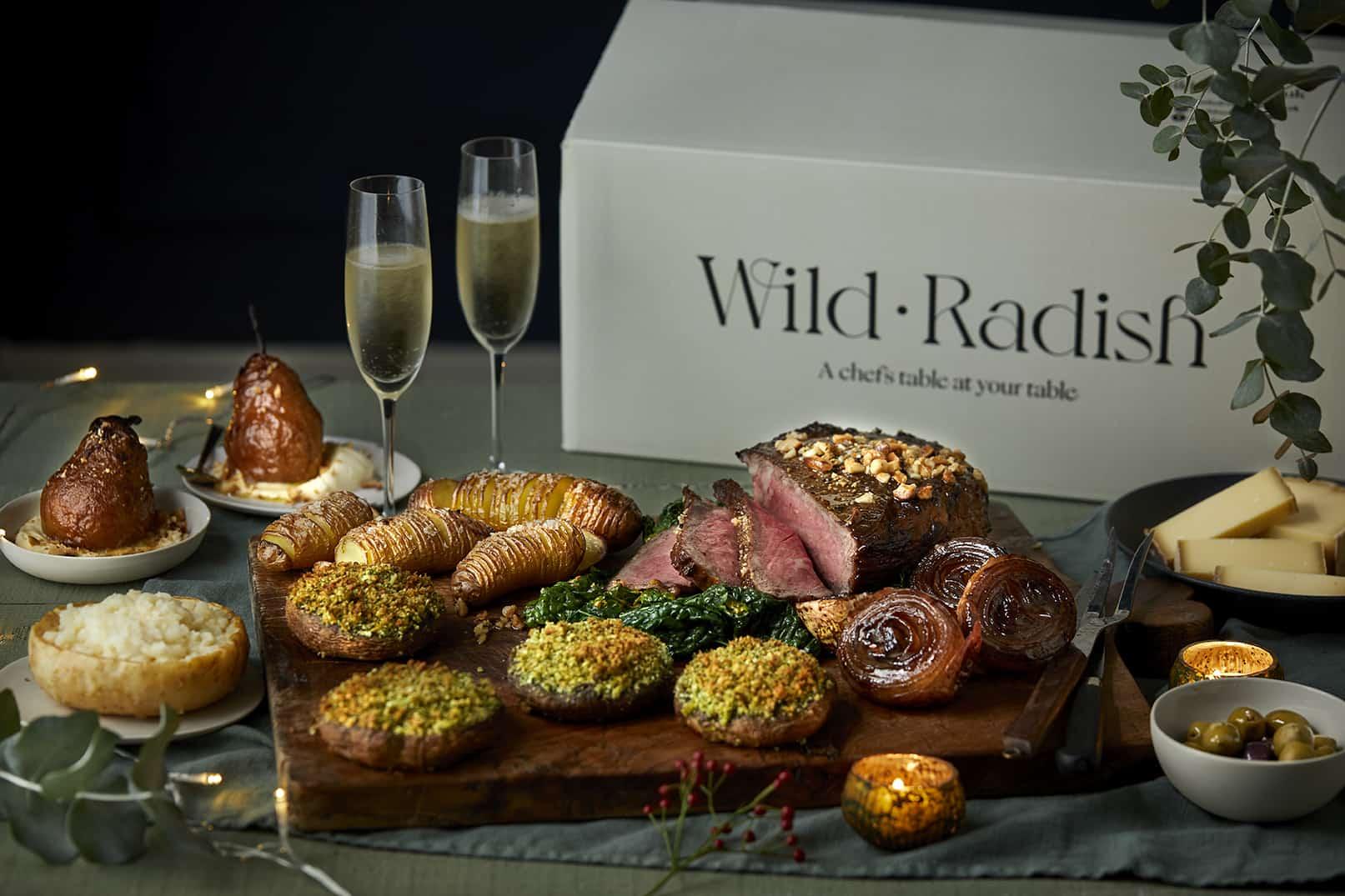 Wild Radish_Christmas Box Christmas food delivery